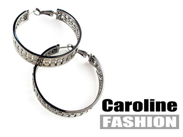 《Caroline》★奧地利施華洛世奇水晶時尚耳環17611