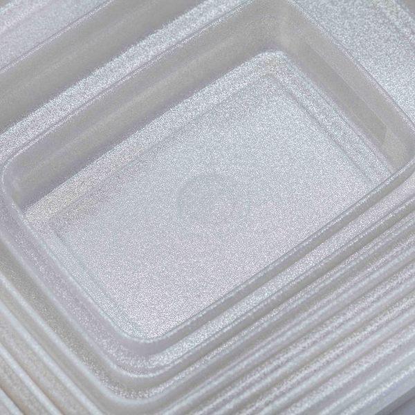 日本製mju-func®妙屋房銀纖維銀離子薄型抗菌保鮮盒T7-M138 規格: 398mm × 298mm × H56mm  5000ml
