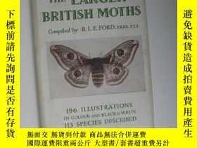 二手書博民逛書店THE罕見OBSERVER S BOOK OF THE LARGER BRITISH MOTHSY12014