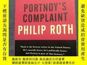 二手書博民逛書店Portnoy s罕見Complaint 波特諾伊的怨訴,菲利普·羅斯,英文版Y329727 Philip R