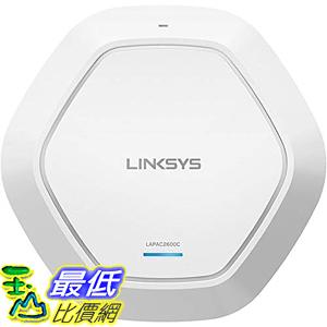 [8美國直購] 網路管理數據器 Linksys Business AC2600 WiFi Cloud Managed Access Point with Remote Centralized Mana