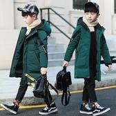 男童棉衣冬裝中長新款加厚兒童羽絨棉服襖中大童休閑韓版童裝