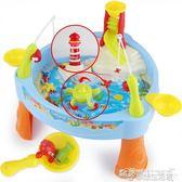 兒童磁性釣魚玩具音樂燈光大號寶寶早教益智電動釣魚機魚池3-6歲YYJ  夢想生活家