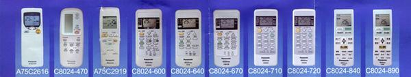《鉦泰生活館》適用 PANASONIC 國際牌原廠冷氣遙控器 C8024-600