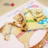 東京西川 斷熱纖維發熱毯[木馬熊]
