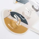 ✭慢思行✭【P639】創意簡約小鳥掛勾(3勾) 掛鉤 黏膠 免釘 牆壁 衛生間 黏勾 免打孔 抹布掛 鑰匙