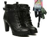 高跟短靴-時尚撫媚必備女靴子ws11[巴黎精品]