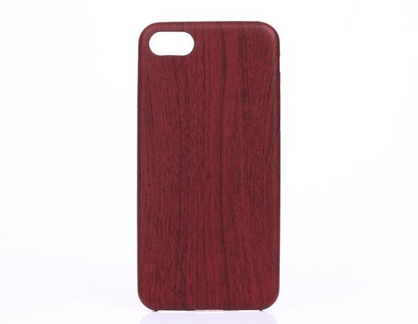 手機配件 適用iphone7木紋手機殼復古PU超薄軟后殼蘋果iphone 7plus保護殼手機殼 手機套 皮套
