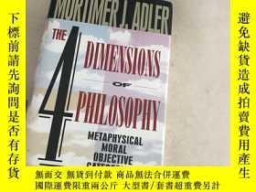 二手書博民逛書店The罕見Four Dimensions Of Philosop