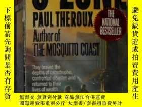 二手書博民逛書店英文原版罕見O-Zone by Paul Theroux 著Y1