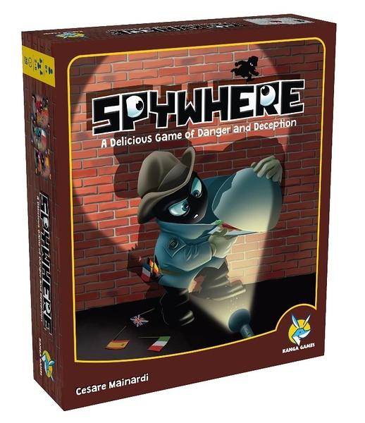 【KANGA GAMES】雙面間諜Spywhere 家庭益智派對桌上遊戲 限時優惠