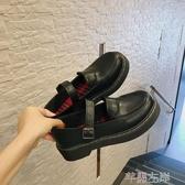 新品娃娃鞋日系小皮鞋女學生JK制服原宿圓頭小皮鞋可愛軟妹淺口復古森系單鞋 芊墨左岸