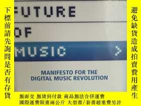 二手書博民逛書店The罕見Future of Music : Manifesto