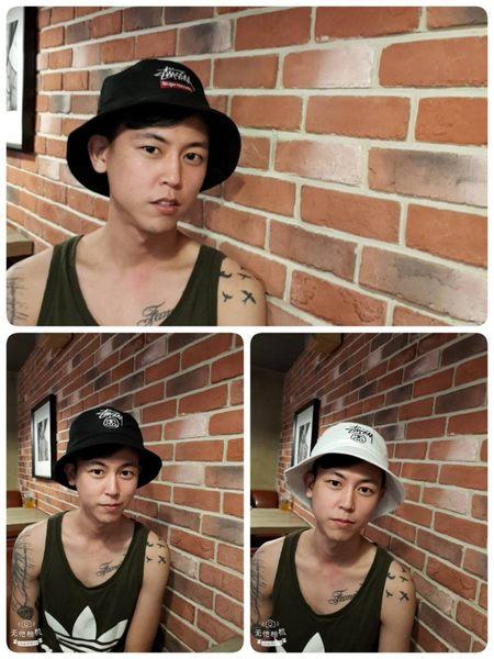 現貨熱銷 stussy同款漁夫帽 superme同款漁夫帽 遮陽帽 【H172】復古遮陽帽 帽子 漁夫帽 老帽