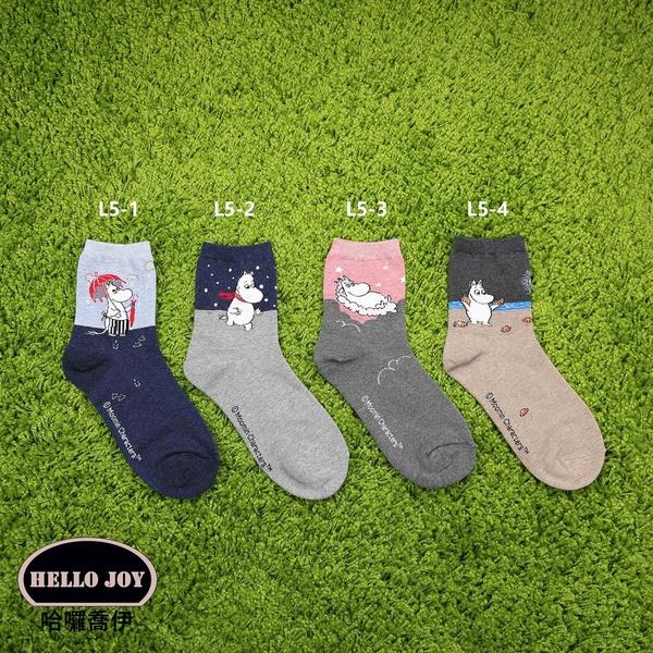 【正韓直送】嚕嚕米中筒襪 韓國襪子 長襪 韓襪 女襪 棉襪 MOOMIN 禮物 韓妞必備 哈囉喬伊 L5