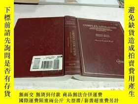 二手書博民逛書店COMPLEX罕見LITIGATION(復雜訴訟)Y212829