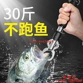 路亞鉗子控魚器控大物帶秤釣魚取鉤多功能套裝活魚扣釣魚用品大全【西語99】