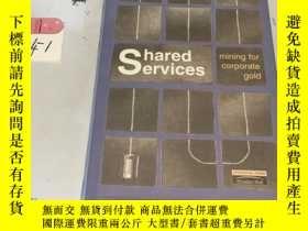 二手書博民逛書店英文原版:Shared罕見Services mining for