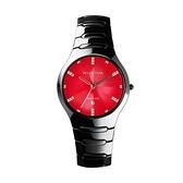 【Relax Time】馬卡龍系列時尚陶瓷腕錶-烈焰紅/RT-26-17B/台灣總代理公司貨享一年保固