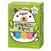 和光堂 IO8玉米風味造型牙餅(4gx3袋)(1歲以上) 日本原裝進口