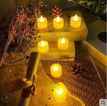 仿真小蠟燭發光LED電子燈