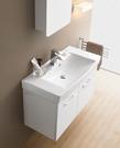 【麗室衛浴】美國KARAT凱樂 時尚簡潔美感  72公分面盆+防水發泡板 浴櫃組