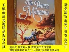 二手書博民逛書店The罕見paper Marriage 紙婚Y146810 Br