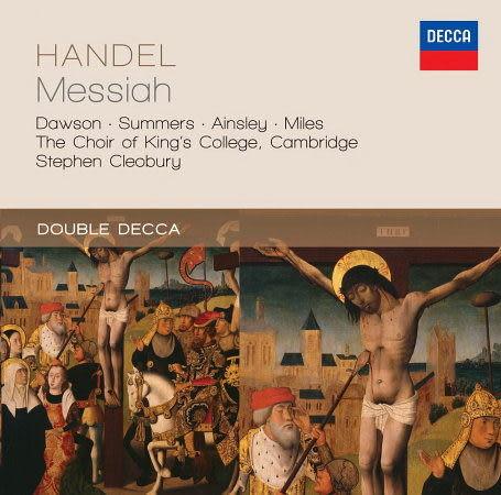 韓德爾:彌賽亞 CD Handel: Messiah 克理歐伯里指揮劍橋國王合唱團布蘭登堡合奏團彌賽亞琳道森
