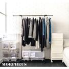 莫菲思 GIRCO好組裝不鏽鋼單桿曬衣架(1入)晾衣架 掛衣 晾曬