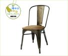 {{ 海中天休閒傢俱廣場 }}C99  復古 68-997 LOFT 工業風 鑄黑鐵實木 仿舊 吧台椅 靠背旋轉吧椅 咖啡廳