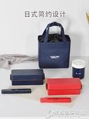 雙層飯盒便當盒日式餐盒可微波爐加熱塑料 分隔午餐男女 時尚芭莎