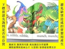 二手書博民逛書店恐龍嗷嗚吼罕見英文原版 Dinosaur Roar! (Pape