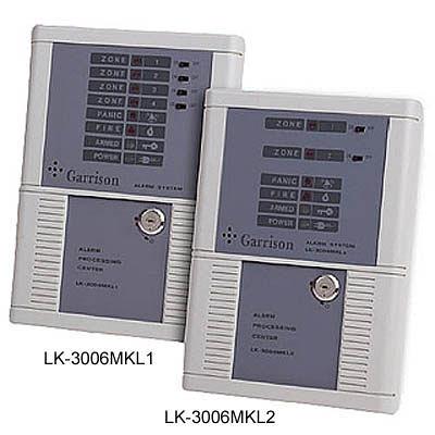 Garrison防盜器材 批發中心 門禁警報.瓦斯防盜主機 微電腦控制主機LK-3006MKL2