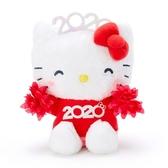 〔小禮堂〕Hello Kitty 沙包絨毛玩偶娃娃《S.紅》沙包玩具.擺飾.2020花漾系列 4901610-16425