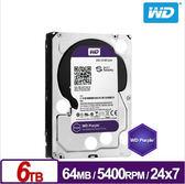 WD 60PURX  紫標  6TB 3.5吋 監控系統硬碟