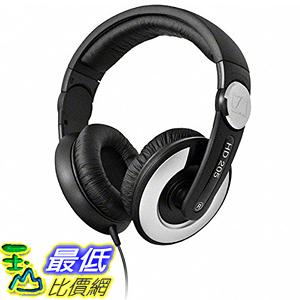 [美國直購] Sennheiser HD 205-II Studio Grade DJ Headphones (Black/Grey) 耳機
