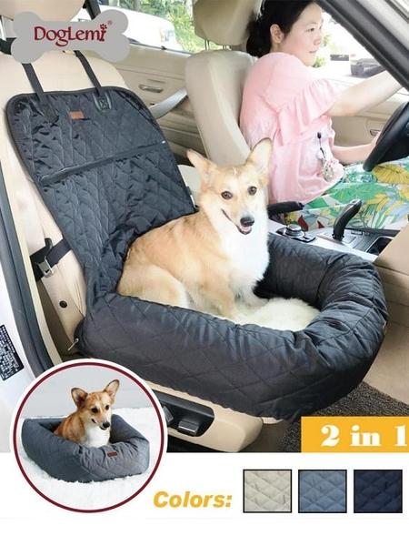 寵物車載墊狗狗副駕駛車墊前排狗窩后座泰迪加厚防水后排 小山好物