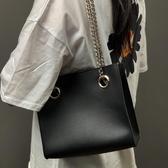 斜背包 高級感包包斜跨女包新款韓版潮時尚托特包休閑百搭鏈條單肩包