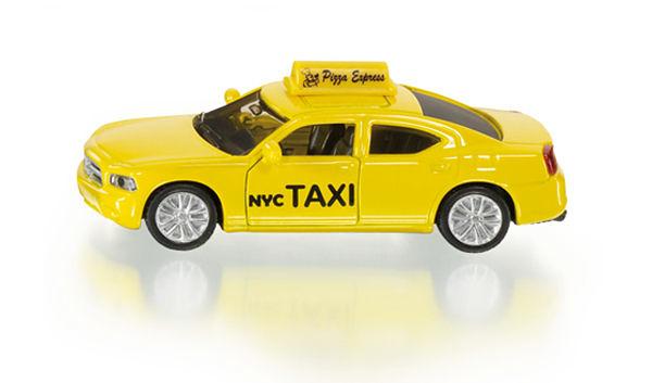 siku 小汽車 No.1490 美國計程車 US-Taxi(車門可開)