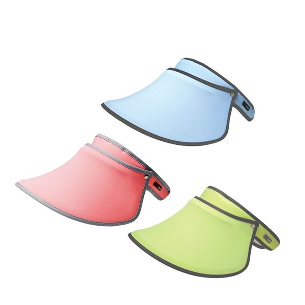SUNSOUL/HOII/后益-新光感/防曬光能布 UPF50+ 伸縮豔陽帽 伸縮艷陽帽/黃色  PG美妝
