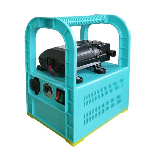 小型充電式抽水泵澆水神器農用澆地抽水機灌溉澆菜家用田園澆水機 百分百