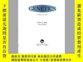 二手書博民逛書店罕見Genetics-遺傳學Y361738 Daniel L. Hartl, ... ISBN:978086