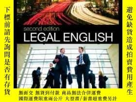 二手書博民逛書店Legal罕見EnglishY256260 Rupert Haigh Routledge Cavendish