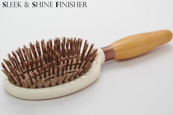 EcoTools Sleek + Shine Finisher Brush 美髮梳 7494#【愛來客 】美國直寄現貨