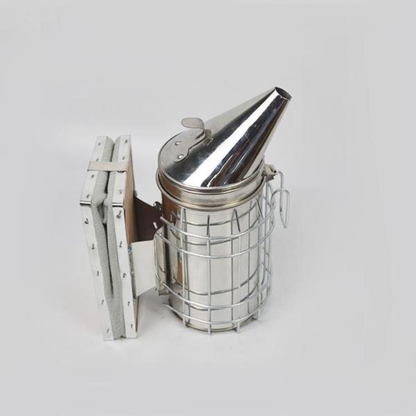 噴煙壺 養蜂工具不銹鋼噴煙器驅蜂趕蜂分蜂養蜂專用熏蜂噴煙壺蜜蜂煙霧彈 一木良品