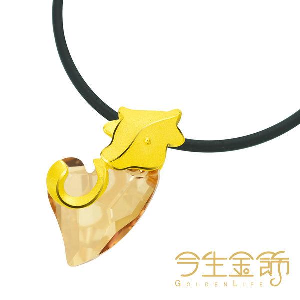 今生金飾    樂情牛墬    時尚黃金墬飾