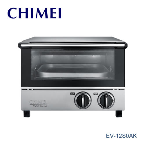 [CHIMEI 奇美]12公升 遠紅外線不鏽鋼電烤箱 EV-12S0AK