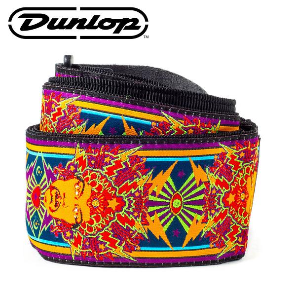 小叮噹的店-Dunlop JH04 背帶 JIMI HENDRIX POSTER STRAP