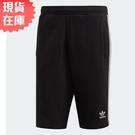 【現貨】ADIDAS ORIGINALS 3-STRIPES 男裝 短褲 休閒 柔軟 刺繡 黑【運動世界】DH5798
