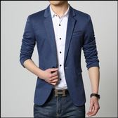 男士休閒西服韓版上衣青年小西裝修身青少年春季小西服單西外套潮